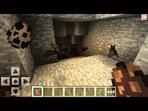 Minecraft PE 0.11.0 - MURCIÉLAGOS