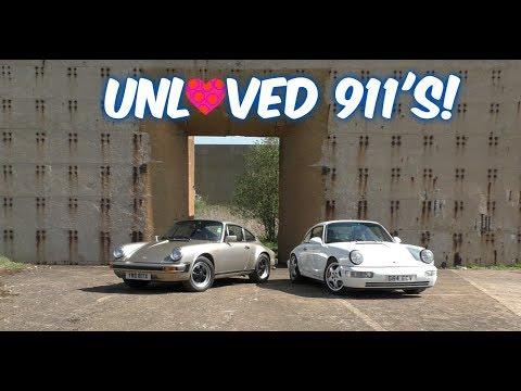 Porsche 911 SC and 964 C4
