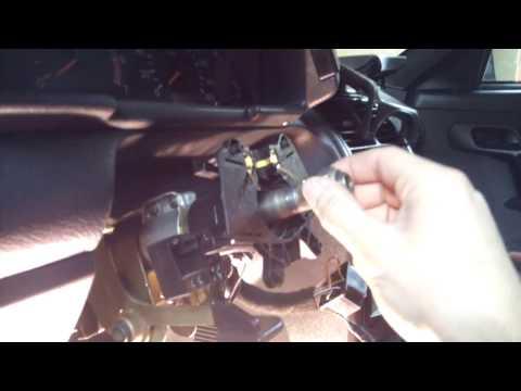 Где находится у VAZ 2110 карданчик рулевого вала
