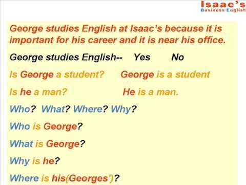Curso de Ingles  Como hacer preguntas en ingles 1 tutorial