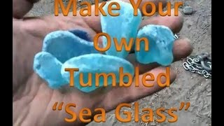 getlinkyoutube.com-How to make your own sea glass!