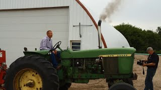 getlinkyoutube.com-Turbo Charged 1968 John Deere 4020 Tractor