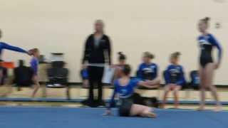 getlinkyoutube.com-Ariana D. Gymnastics Age 7 Vault 3rd MN State Qualifier