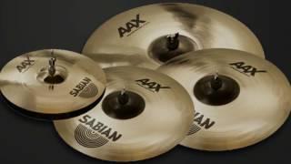 Sabian AAX Series Cymbals demo w/ Rick Murray