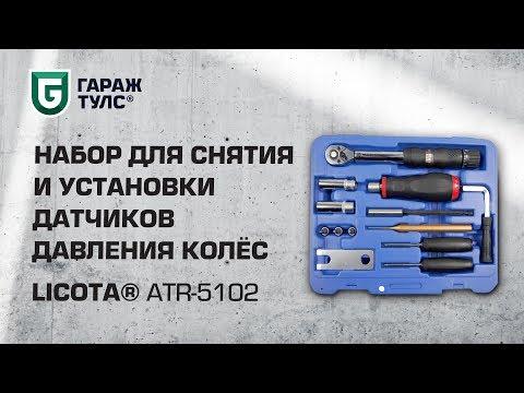 Набор для снятия и установки датчиков давления колёс Licota ATR-5102