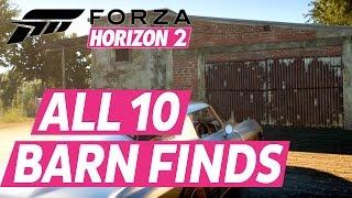 getlinkyoutube.com-Forza Horizon 2 All Barn Finds Car Locations