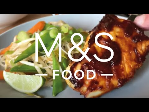 Cook With M&S...Baked Barbecue Cod | M&S Food