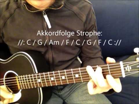 Let it be Gitarrengriffe lernen (Akkorde Part 1)
