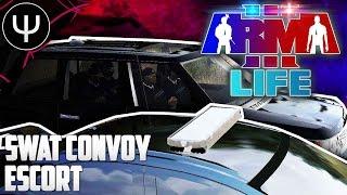 getlinkyoutube.com-ARMA 3: Life Mod — SWAT Diamond Convoy Escort!