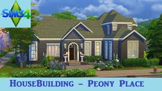 getlinkyoutube.com-The Sims 4: House Building - Peony Place