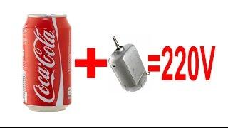 تحويل تيار بطارية 12 فولت إلى كهرباء 220 فولت من مواد بسيطة جدا