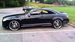 getlinkyoutube.com-Mercedes Benz Cl 550 22's
