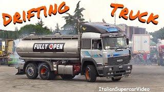 CRAZY Drifting Truck vs BMW e30 proto - Rombo Rock 2016