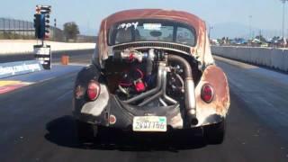 getlinkyoutube.com-dan does big wheelie in benco turbo bug, 11.28 and breaks it, benco racing transaxles