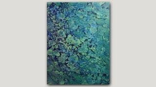 getlinkyoutube.com-DIY Abstract Art Print | Acrylic Paint and Rubbing Alcohol Technique