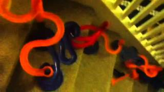 getlinkyoutube.com-My Awesome Marble Run Down the Stairs