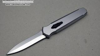 getlinkyoutube.com-Jeff A. Harkins Triton OTF Automatic Knife Review