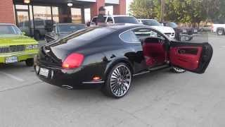 getlinkyoutube.com-Bentley Continental GT on 22 inch AUTONOMO Forgiatos