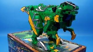 getlinkyoutube.com-작토르 파워레인저 다이노포스 장난감 별매품 오픈박스 동영상 Power Rangers Dino Force TOY Change Open Box