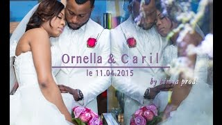 getlinkyoutube.com-Mariage de Ornella & Caril à la Salle Elysée ( Mariage congolais )