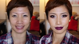 getlinkyoutube.com-Fall/Autumn Makeup Feat. The Balm Nude Tude Collab with TheTukkyTuk11