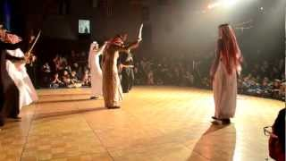 getlinkyoutube.com-العرضه الجنوبيه في كاملوبس . Saudi Traditional Dance Kamloops - Canada