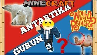getlinkyoutube.com-HIDUP DI GURUN PASIR ATAU ANTARTIKA? - Minecraft Would You Rather