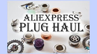 Aliexpress' 00g Plug Haul 2018 | Pt.1 Single Flared || Hypnonsense