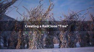 "getlinkyoutube.com-Creating a RailClone ""tree"""