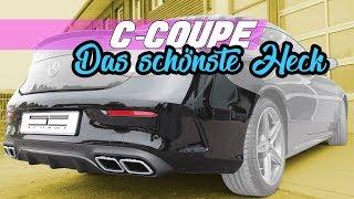 getlinkyoutube.com-C Klasse (W205) Diffusor AMG Optik Umbau | Schawe Car Design
