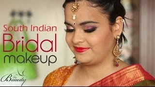 getlinkyoutube.com-South Indian Bridal makeup