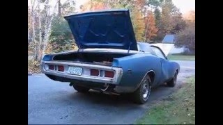 getlinkyoutube.com-'71 Charger Super Bee 12.5:1 Compression 383