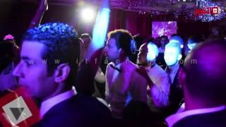 """getlinkyoutube.com-علي ربيع يرقص """"فرتكة فرتكة"""" في حفل زفافه"""