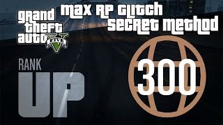 getlinkyoutube.com-GTA 5 Online- Instant Max Reputation Glitch (Level 300 Super Fast) - Fastest RP Method!
