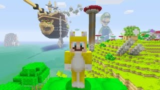 getlinkyoutube.com-Minecraft: Super Mario Edition - Bowser's Airship {1}