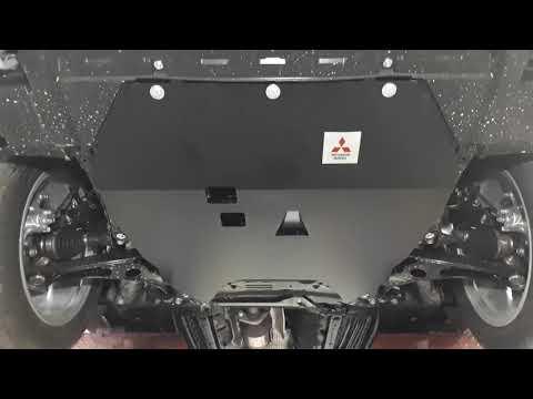 Защита картера двигателя Mitsubishi Outlander