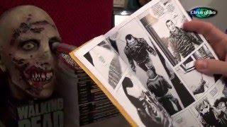 getlinkyoutube.com-Coleção - HQS Os mortos Vivos (TWD) Morte do Gleen pelo Negan com a Lucille.