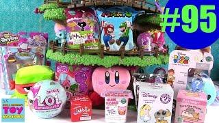 getlinkyoutube.com-Blind Bag Treehouse #95 Unboxing | LOL Surprise Disney Shopkins Pusheen | PSToyReviews