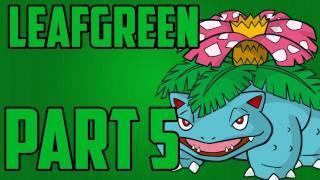 getlinkyoutube.com-Pokemon - Leaf Green Walkthrough Part 5 / We Fail Sad Face.