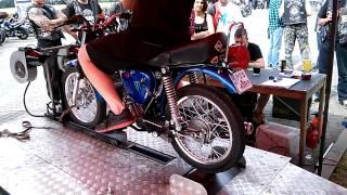 Simson s51 60/4 Stunt Open Krotoszyn 2014 Hamownia