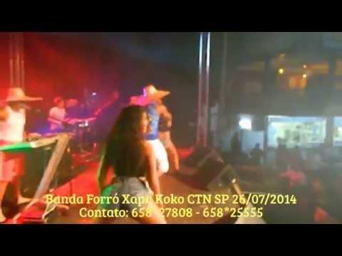 Banda Forró Xapa Koko no CTN SP 26 07 2014