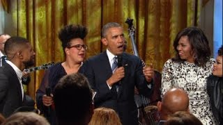 getlinkyoutube.com-Watch President Obama speak -- and sing -- at White House tribute to Ray Charles