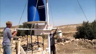 getlinkyoutube.com-Wind pump installation