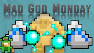 VERY CLOSE CALLS + FUNNY MOMENTS WITH THE GUILD | Mad God Monday 7 RotMG