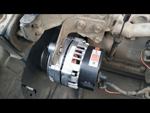 Усиленный генератор СтарВольт 130 А на сенс