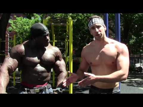 Funny Street Workout With Kali Muscle