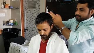 Head massage no talking