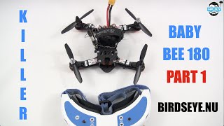 getlinkyoutube.com-HPIGUY | Killer Baby BEE 180 MiniQuad Part1