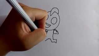 getlinkyoutube.com-วาดการ์ตูนกันเถอะ สอนวาดการ์ตูน อุลตร้าแมน วิ่ง ง่ายๆ หัดวาดตามได้