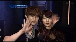 getlinkyoutube.com-2011.12.13 Hyun Ah 현아  Trouble Maker 트러블 메이커